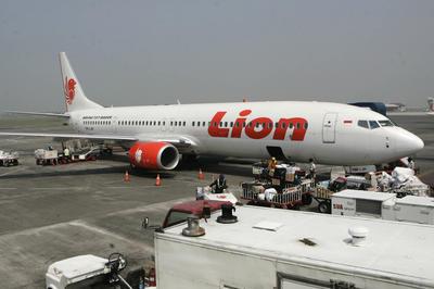 インドネシアのライオン航空610便が墜落