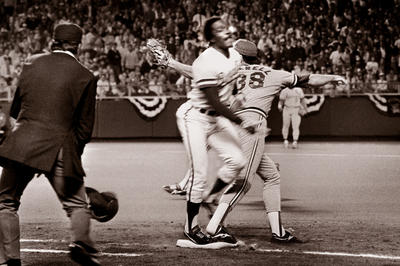 一塁塁審が世紀の誤審