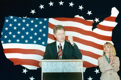 ビル・クリントン氏 米国大統領就任