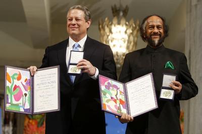アル・ゴア氏 ノーベル平和賞