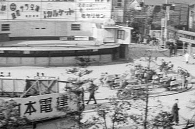 【東京新橋の風景】