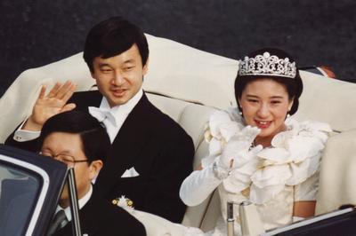 天皇陛下御夫妻 結婚の儀