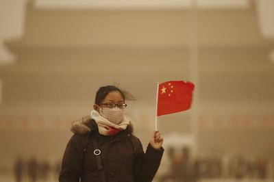 中国 大気汚染が深刻化