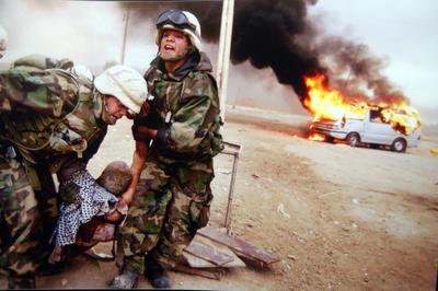 イラク戦争 開戦