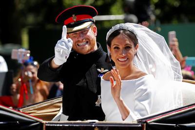 ヘンリー英王子とメーガン妃御結婚