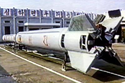 北朝鮮 テポドン1号発射