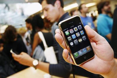 初代iPhone発売