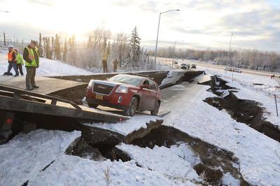 【11月】アラスカ M7.0の地震