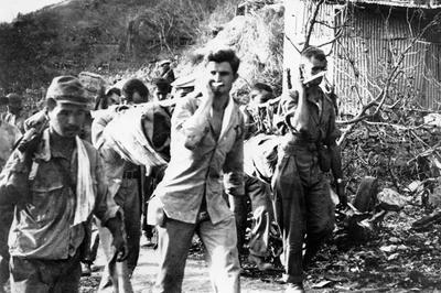 バターン死の行進(1942年4月)