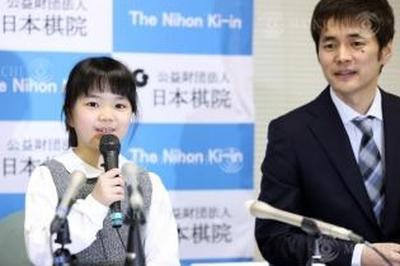 1月6日 仲邑菫さん 史上最年少の9歳でプロ棋士に