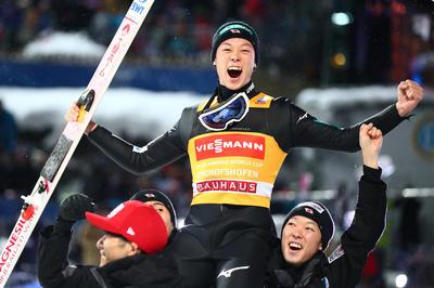 1月6日 スキージャンプ・小林陵侑がジャンプ週間完全制覇