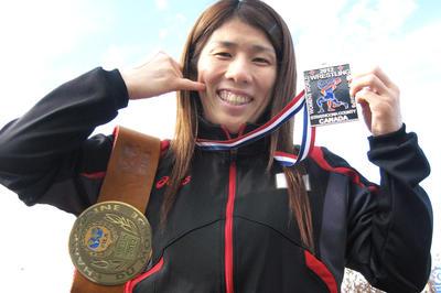 2012年 世界選手権 10連覇