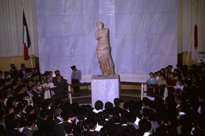 ミロのヴィーナス展が日本で開催(1964年4月)