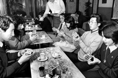 ルービックキューブ流行(1980年)