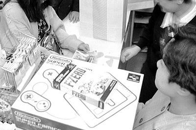 スーパーファミコン発売(1990年11月)