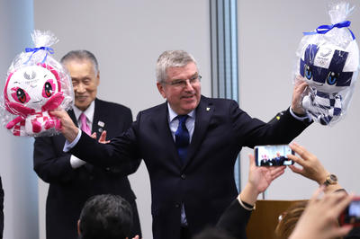 IOCバッハ会長が日本を訪問
