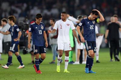 2月1日 AFCアジアカップ、日本代表がカタール代表に敗れ準優勝