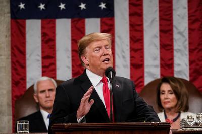 2月5日 米大統領一般教書演説 国境の壁建設に改めて決意語る