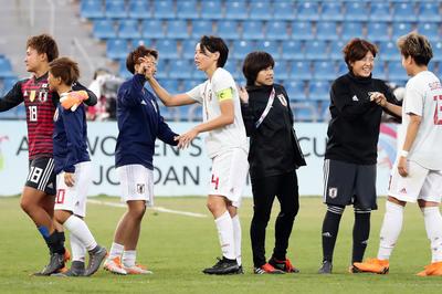 なでしこジャパン W杯予選の模様