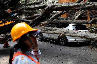 台湾・花蓮で地震が発生