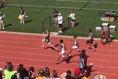 【話題】米高校生が100mで9秒98