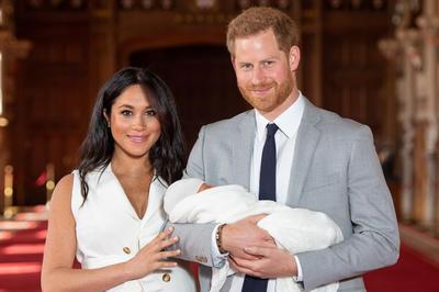 5月6日 英・メーガン妃が第一子となる男児を出産