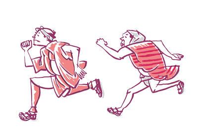スポーツイラスト タッチ 03