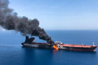 6月13日 日本企業のタンカーほか2隻 ホルムズ海峡で攻撃受ける