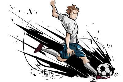 スポーツイラスト タッチ 19