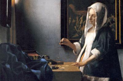 フェルメール「天秤を持つ女」