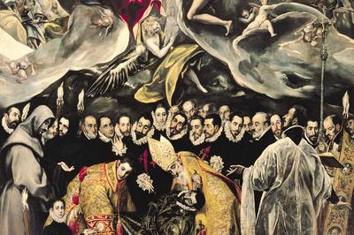エル・グレコ「オルガス伯爵の埋葬」