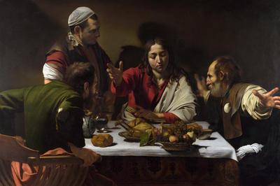 カラヴァッジョ「エマオの晩餐」