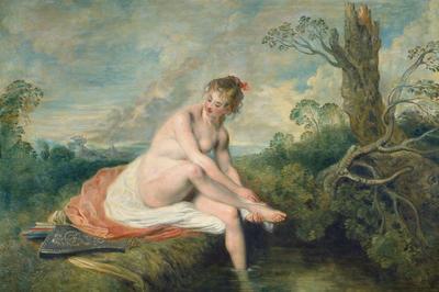 アントワーヌ・ヴァトー「ディアナの水浴」