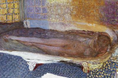 ピエール・ボナール「浴槽の裸婦」