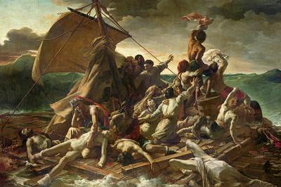 テオドール・ジェリコー「メデューズ号の筏」