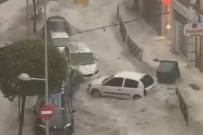 スペイン各地で異常気象