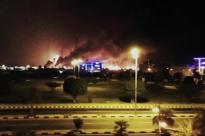 9月14日 サウジ石油施設に無人機攻撃 イエメン武装勢力が犯行声明