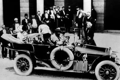 サラエボ事件(1914年6月)