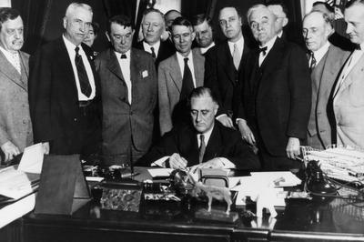 ニューディール政策(1930-40年代)