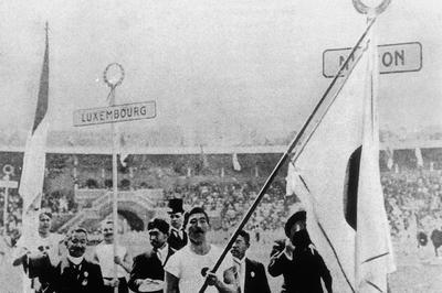 日本選手団がオリンピック初参加