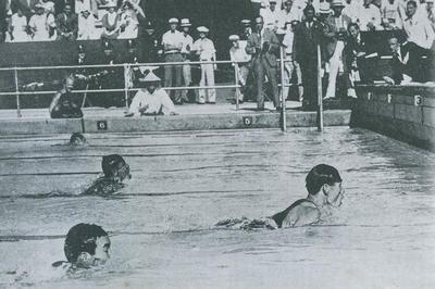 競泳 鶴田義行が日本人初となる五輪連覇