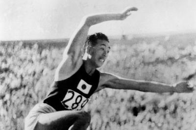 陸上三段跳び 南部忠平が世界新で金メダル