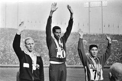 マラソン男子 アベベが史上初の連覇