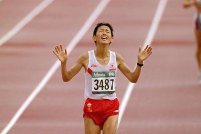 有森裕子が銅メダル獲得