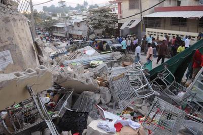 ハイチでM7.0地震、23万人死亡(2010年1月12日)
