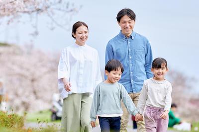 春の家族・親子