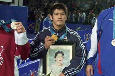 井上康生がオール1本で金メダル獲得