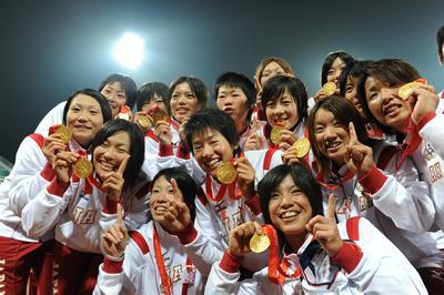 ソフトボール 日本が金メダル獲得