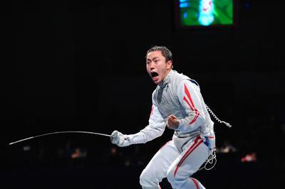 太田雄貴が日本人初のメダル獲得
