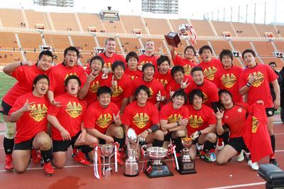大学ラグビー、帝京大が3連覇(2012年1月8日)